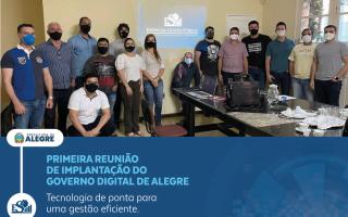Essencial implantará governo digital em Alegre